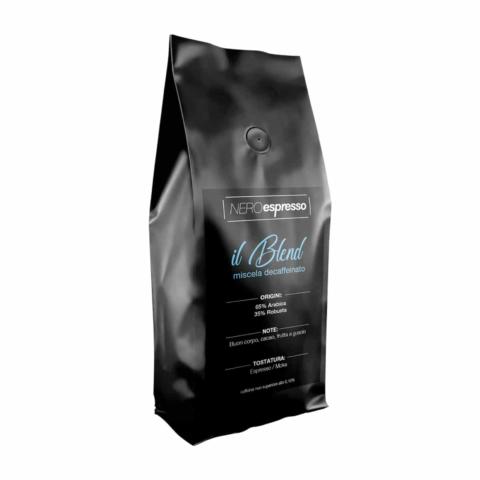 miscela di caffè espresso decaffeinato