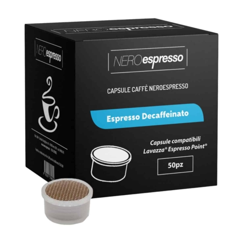 capsule caffè espresso decaffeinato lavazza espresso point