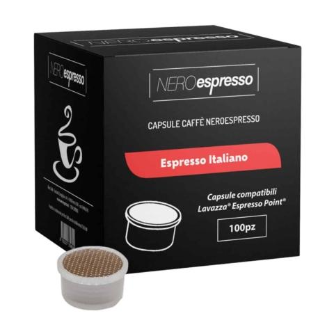 capsule caffè espresso italiano lavazza espresso point
