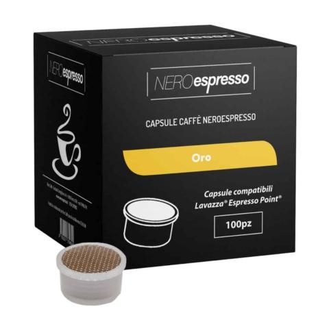 capsule caffè oro lavazza espresso point