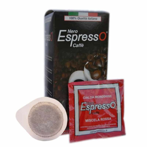 cialde caffè espresso italiano in confezione blister