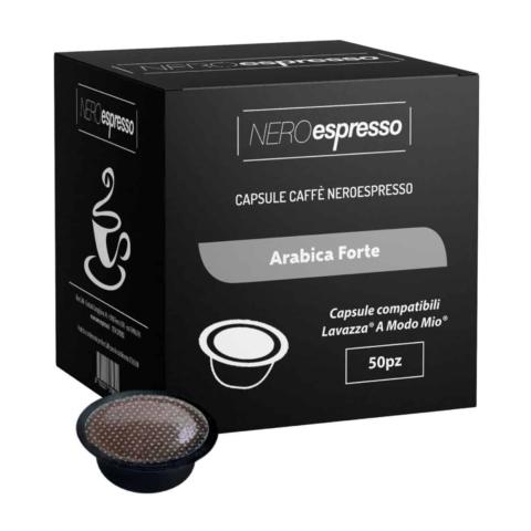 capsule caffè arabica forte lavazza a modo mio