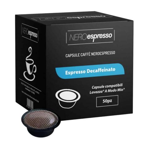 capsule espresso decaffeinato lavazza a modo mio