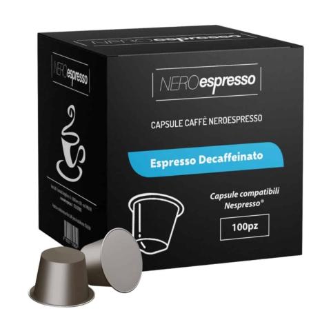 capsule caffè espresso decaffinato compatibili nespresso