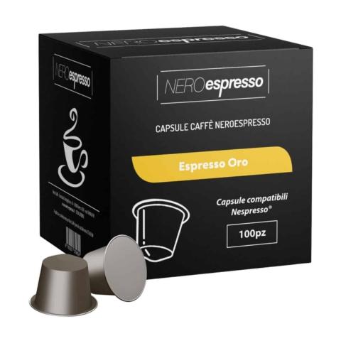 capsule caffè espresso oro compatibili nespresso