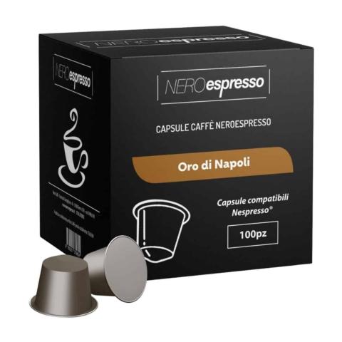 capsule caffè oro di napoli compatibili nespresso