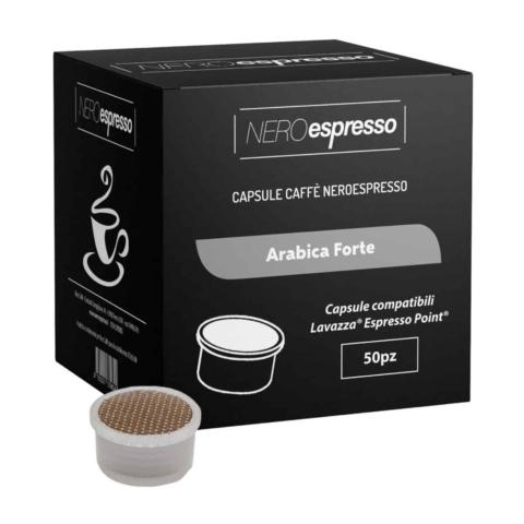 capsule caffè arabica forte lavazza espresso point