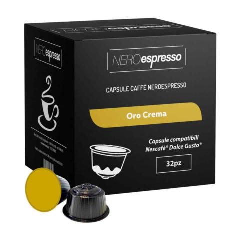 capsule caffè oro crema nescafè dolce gusto