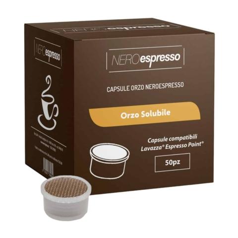 capsule di orzo solubile compatibili lavazza espresso point