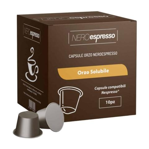 capsule orzo solubile compatibili nespresso