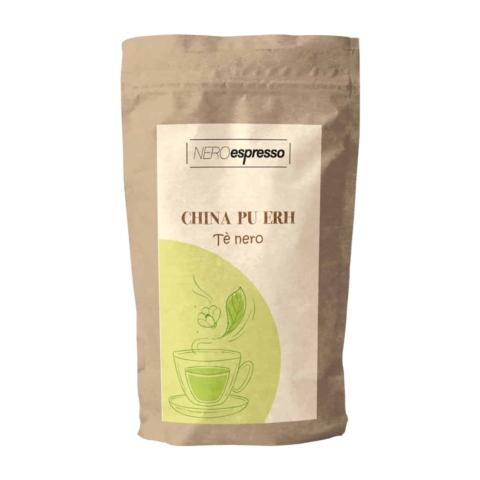 confezione di tè nero china pu erh