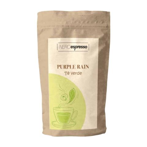 confezione di tè verde purple rain