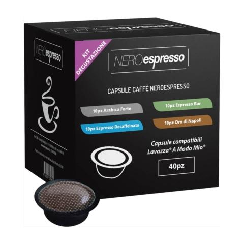 kit degustazione capsule caffè lavazza a modo mio